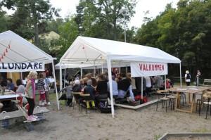 Kräftfest i Skogalundsparken 2011
