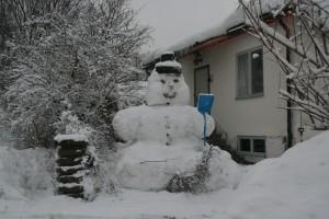 Snögubbe 2012