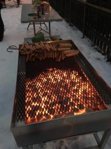 Ny grill i Skogalundsparken